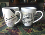 Hand-Painted Custom Mugs