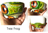 Reptiles and Amphibians Porcelain ART BOWLS