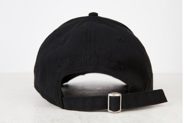 ATM Black on Black Cap