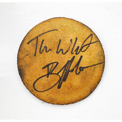 Stamped Leather Drinks Coaster - SIGNED