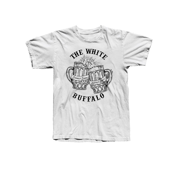 TANKARDS WHITE TEE