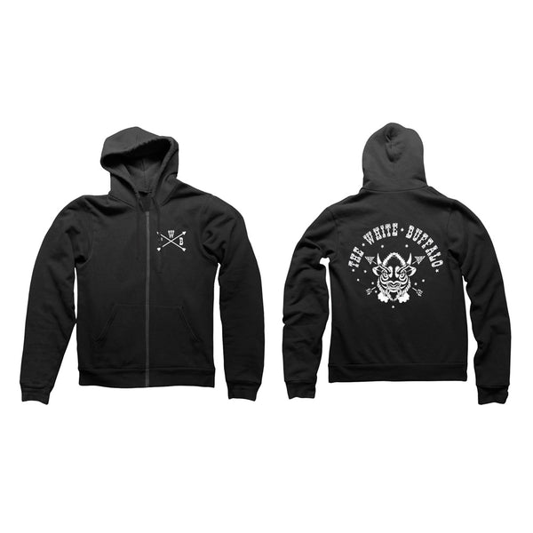 BUFFALO HOODY BLACK