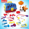 Deluxe Pet Doctor Vet Kit, Interactive Pretend Role Play Set