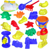 Kidzlane Kids 20 Piece Beach sand set with mesh bag