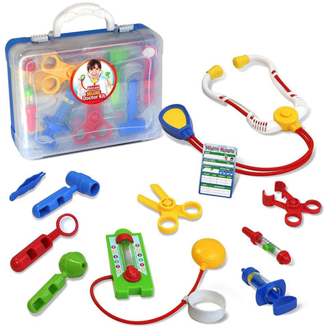 Kids Deluxe Doctor Medical Kit