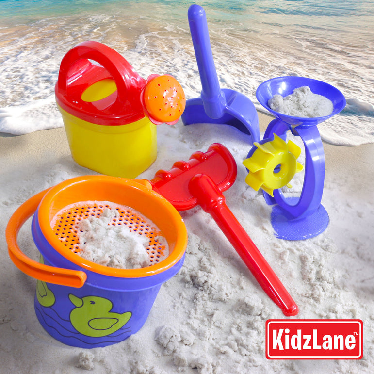 Beach sand set with mesh bag - Kidzlane