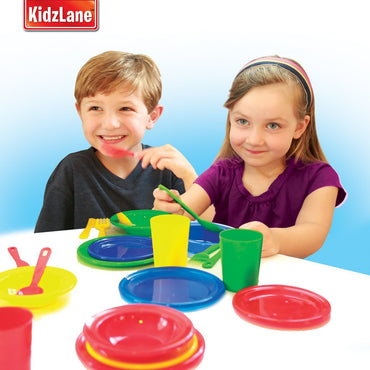 Kids Play Dishes - Kidzlane