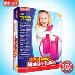 KIDS WALKIE TALKIES PINK