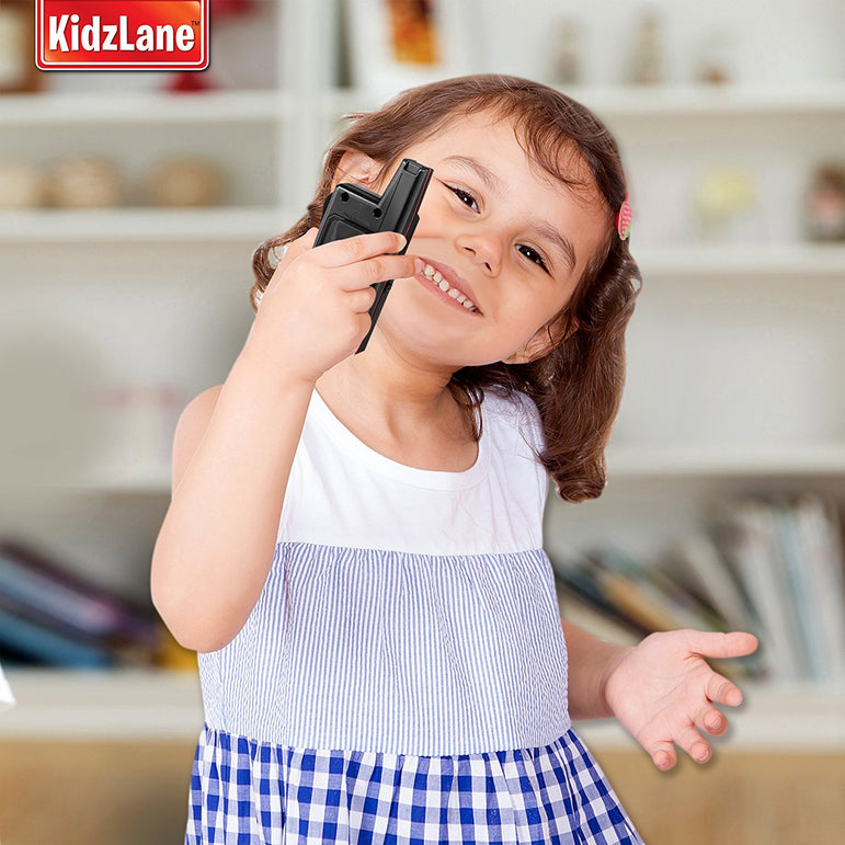 Kids Walkie Talkies Black - Kidzlane