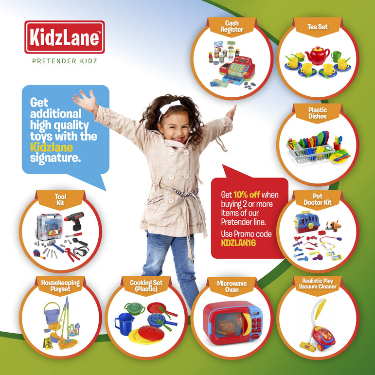 Kids Deluxe Doctor Medical Kit - Kidzlane