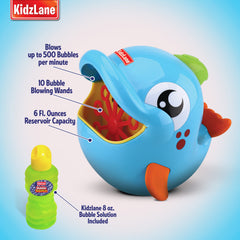 Bubble Machine | Automatic Durable Bubble Blower for Kids | 500 Bubbles per Minute | Simple and Easy to Use - Kidzlane