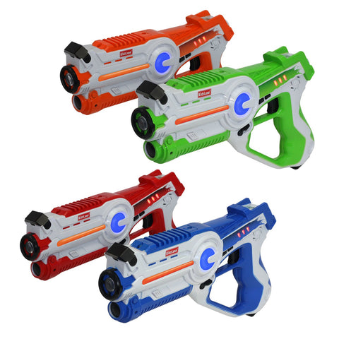Laser Gun Tag Game Mega Pack - Set of 4