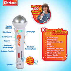Kids Sing-A-Long Bluetooth Microphone