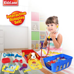 Pretend Veterinarian Doctor Kit - Kidzlane