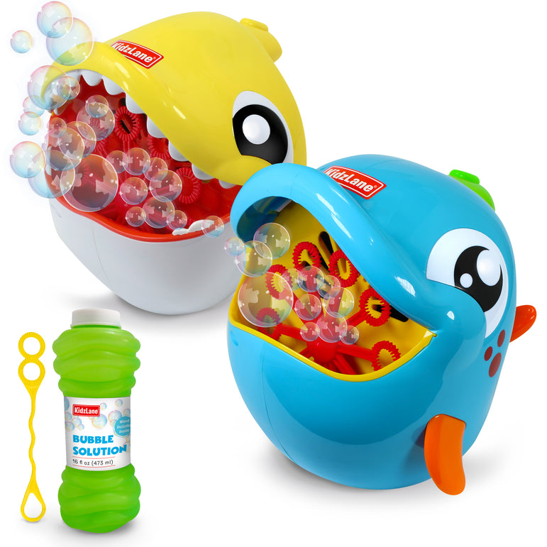 Shark and Dolphin Bubble Machine 2 Pack