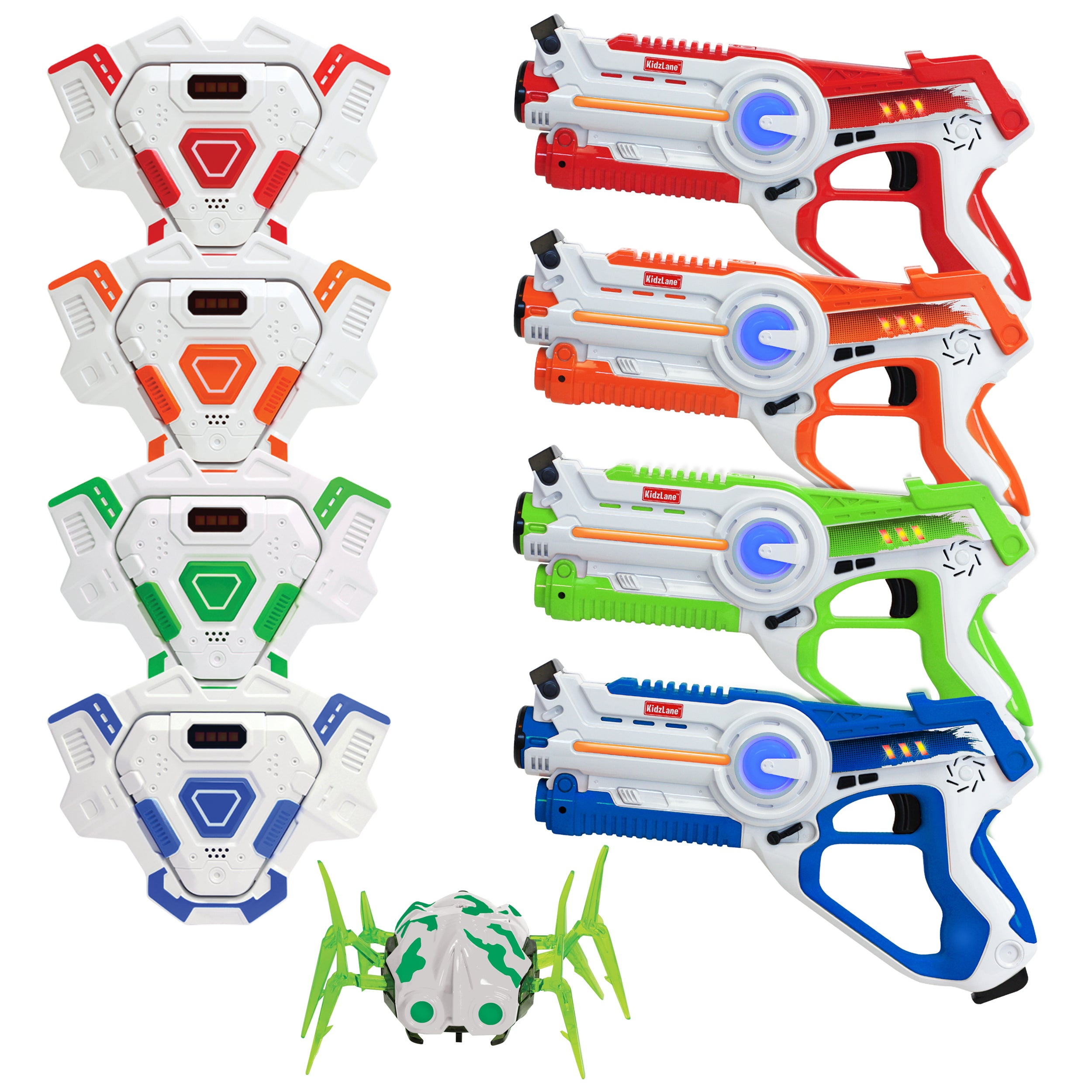 Laser Tag Mega Pack with Vests & Spider