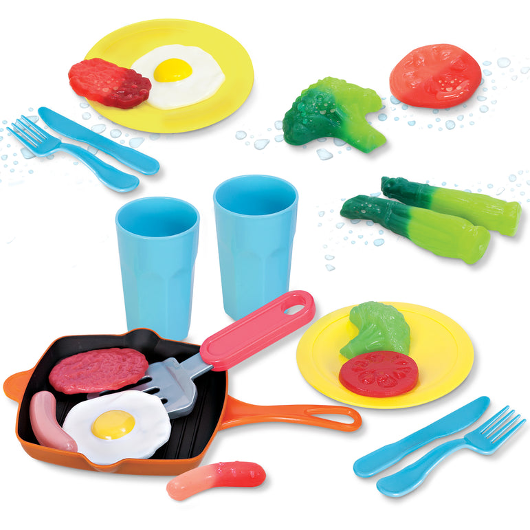Color Changing Dinner Set - Play Food & Dishes