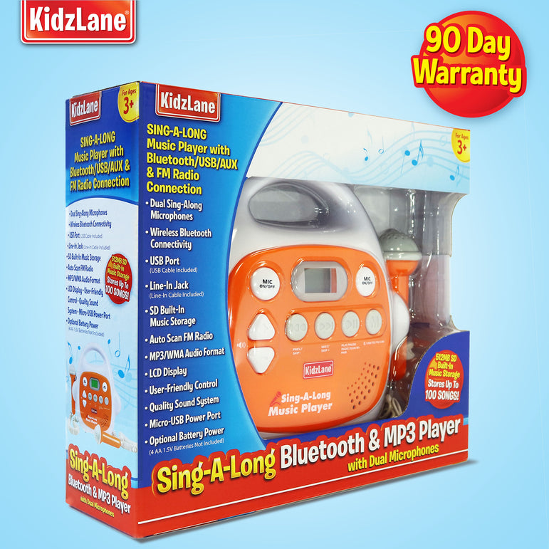 KIDS Bluetooth/MP3/AUX KARAOKE MACHINE