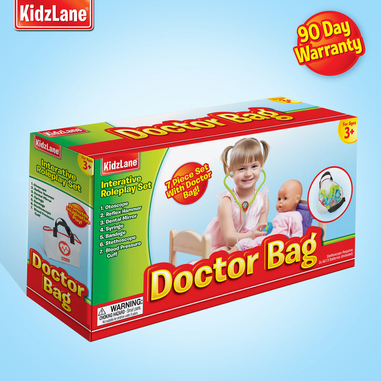 Kids Doctor Kit with Storage Bag