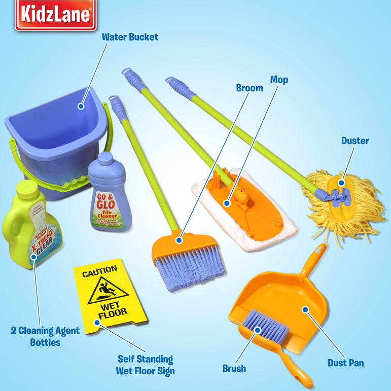 Pretend Play Cleaning Set