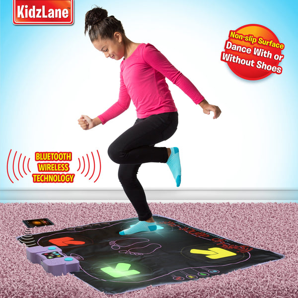 Kidzlane Light Up Dance Mat Arcade Style Dance Games