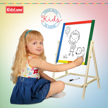 Wooden 2-In-1 Easel