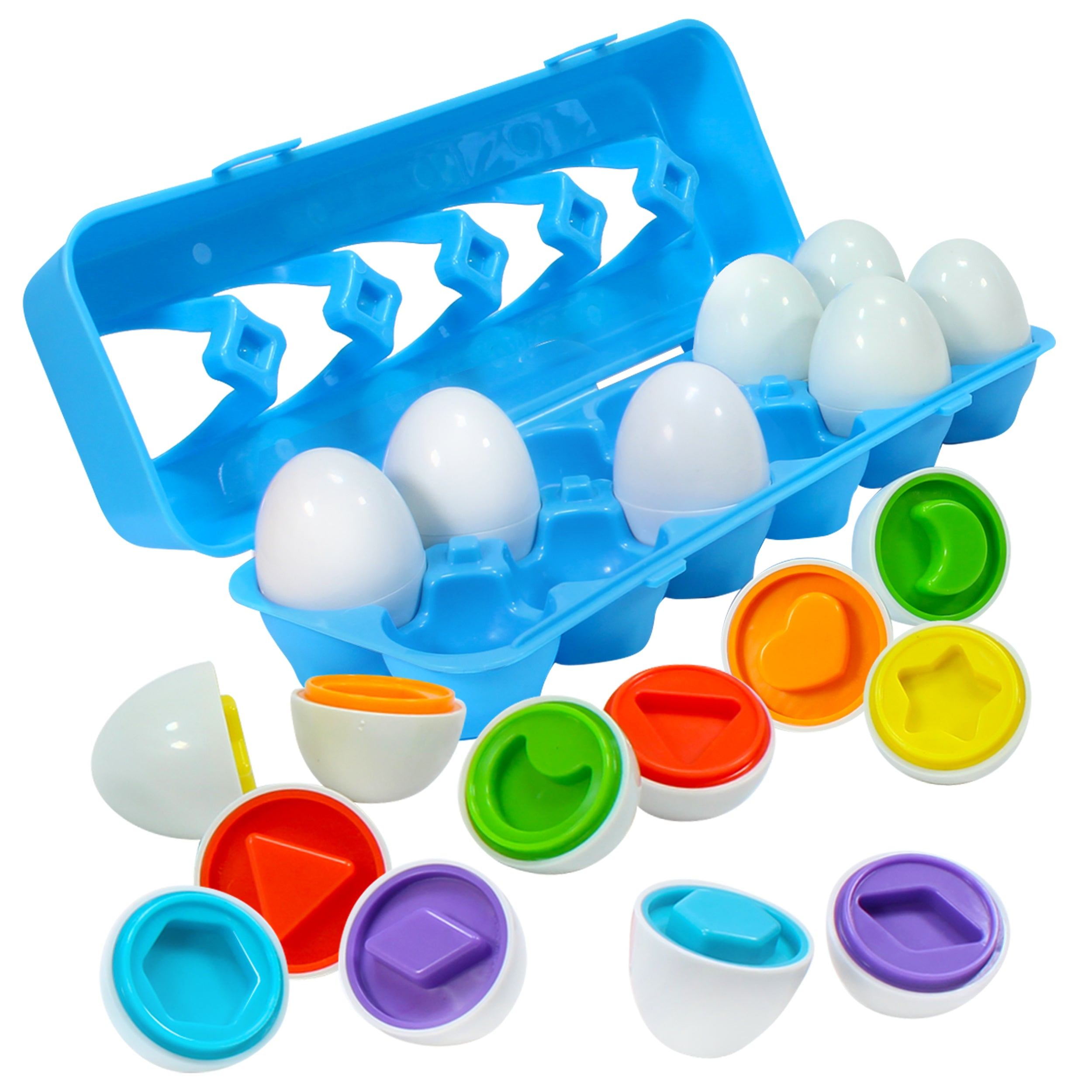 Match The Shape Egg Set