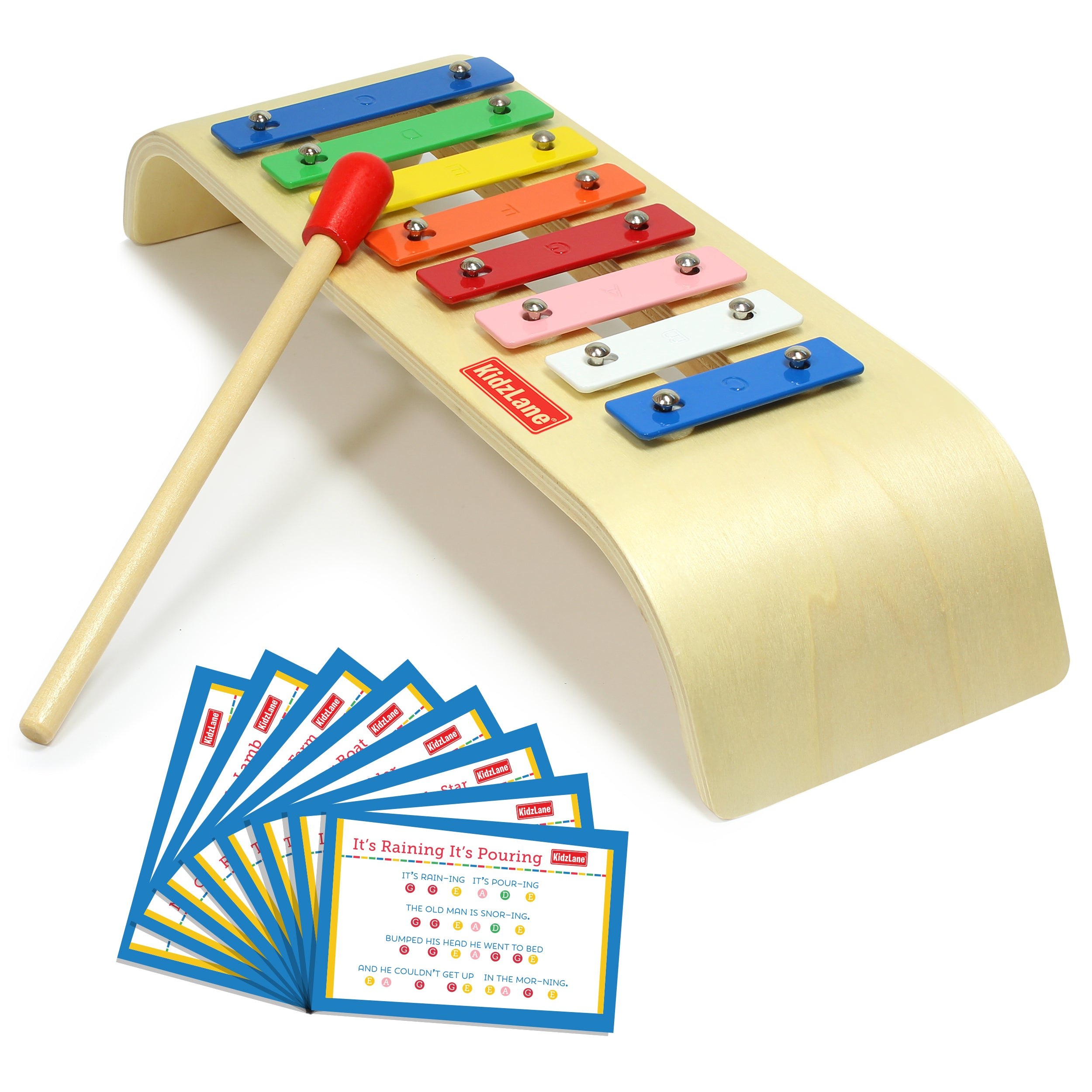 My First Wooden Xylophone - Kidzlane
