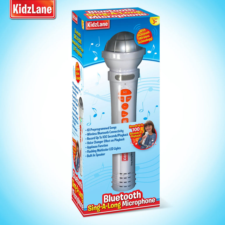 Kids Sing-A-Long Bluetooth Microphone - Kidzlane