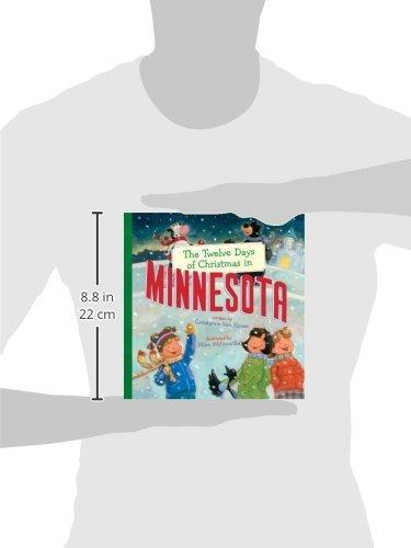 12 Days of Minnesota Christmas Book
