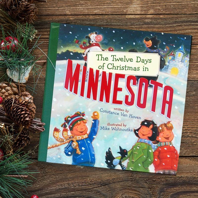 Twelve Days Of Christmas Book.12 Days Of Minnesota Christmas Book