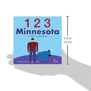 123 Minnesota - A Cool Counting Book