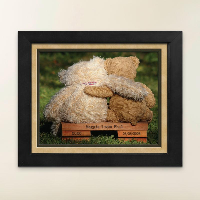 Personalized Teddy Bear Print