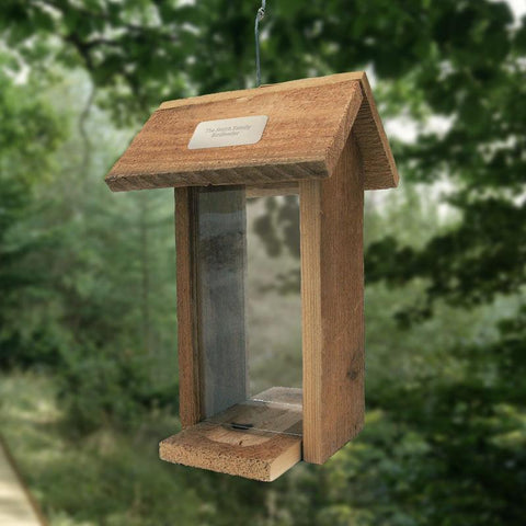 Personalized Combo Cedar Bird Feeder
