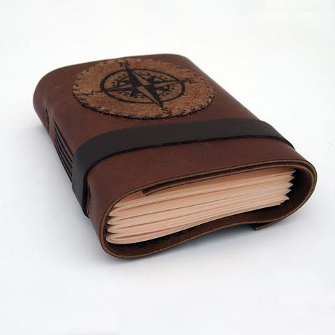 Handmade Compass Journal