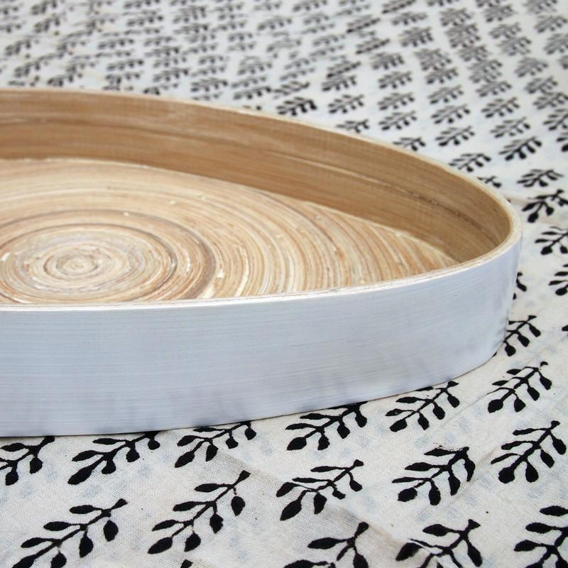 Bamboo Tear Drop Tray