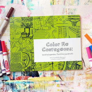 Coloring Book - Color Me Courageous