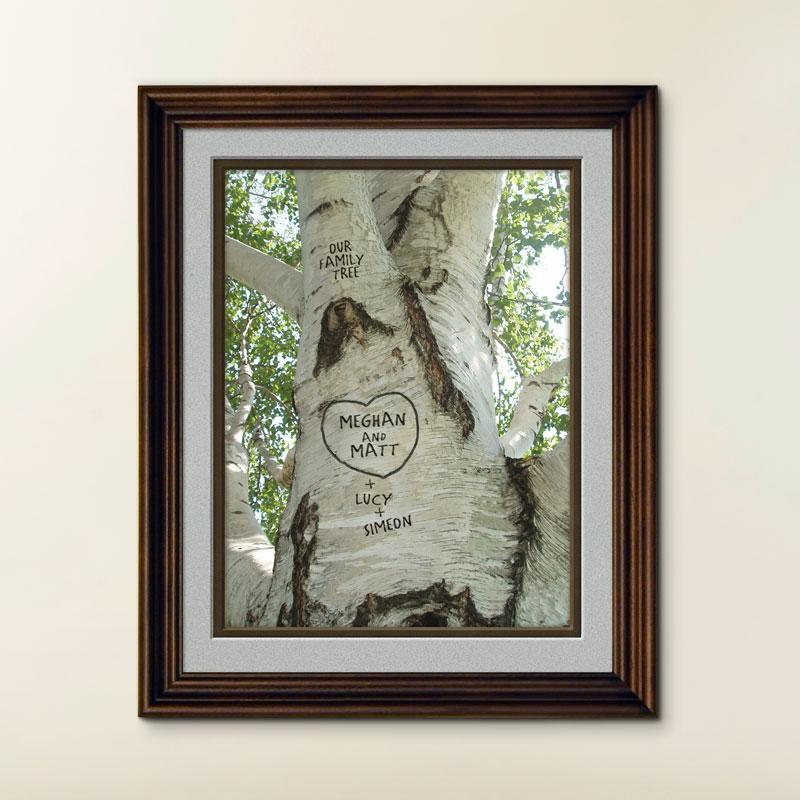 Personalized Tree Print