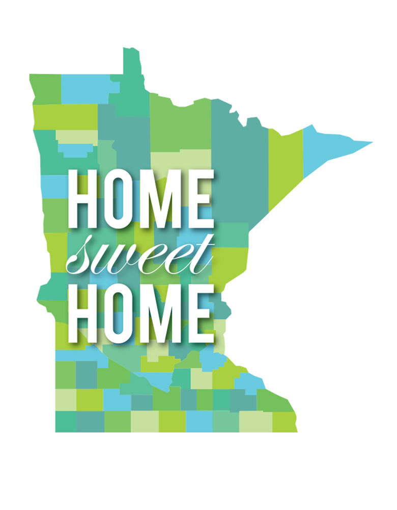 MN Home Sweet Home Postcard