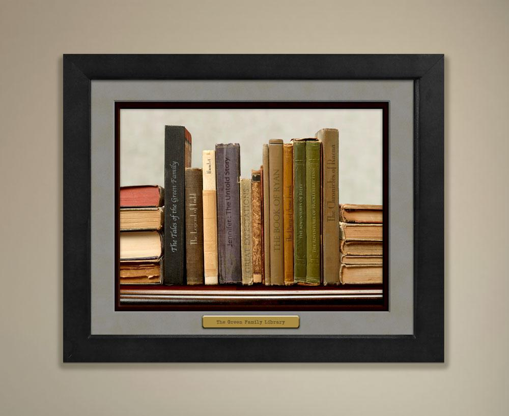 Personalized Library Print