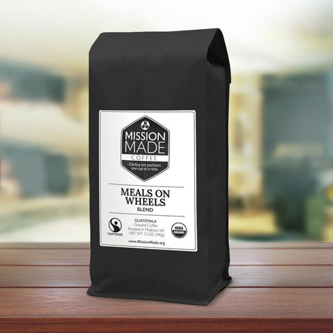 "Mission Made Coffee ""Meals on Wheels Blend"""