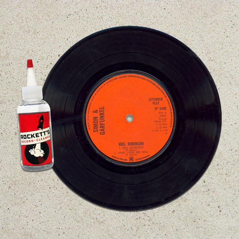 Rockett's Record Cleaner and Cloth