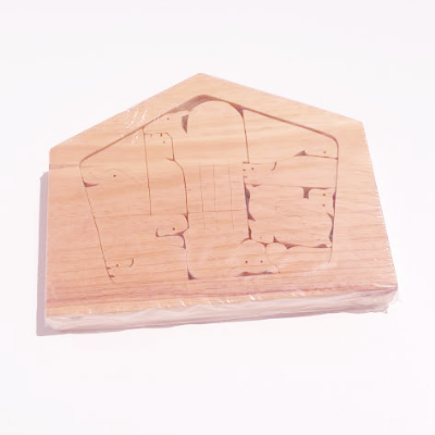 Handmade Nativity Puzzle