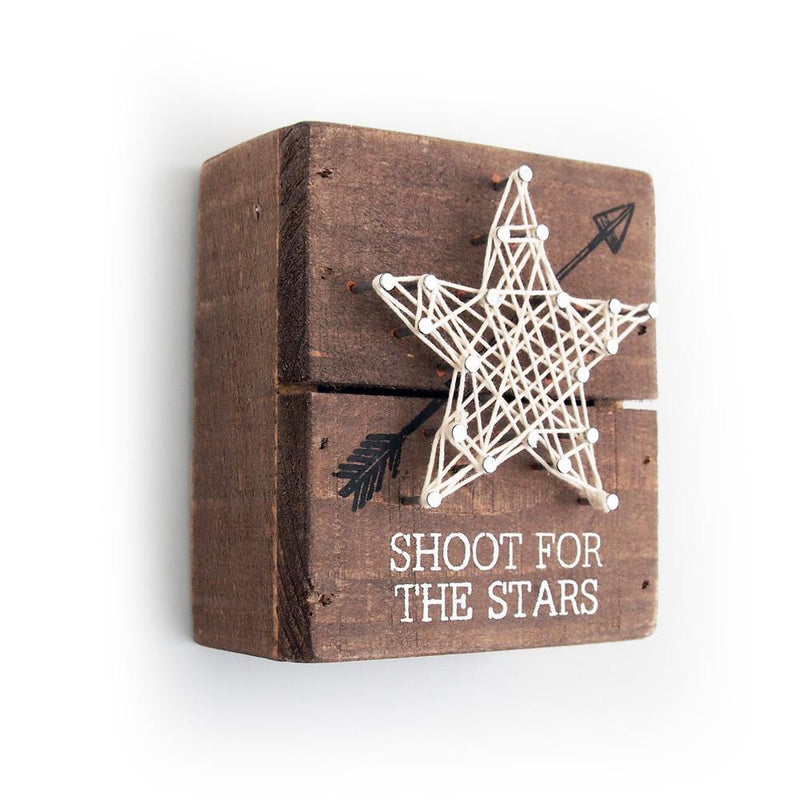 Shoot for the Stars String Art