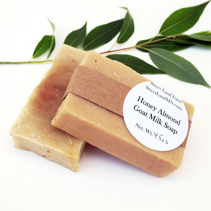 Honey Almond Goat Milk Soap