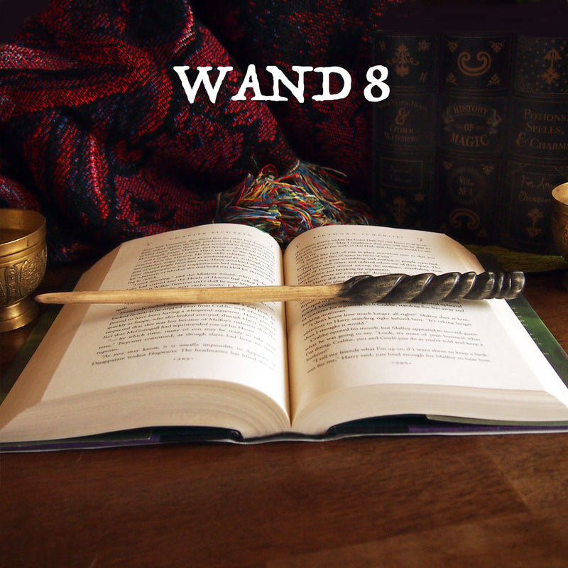 Handcrafted Wooden Wands
