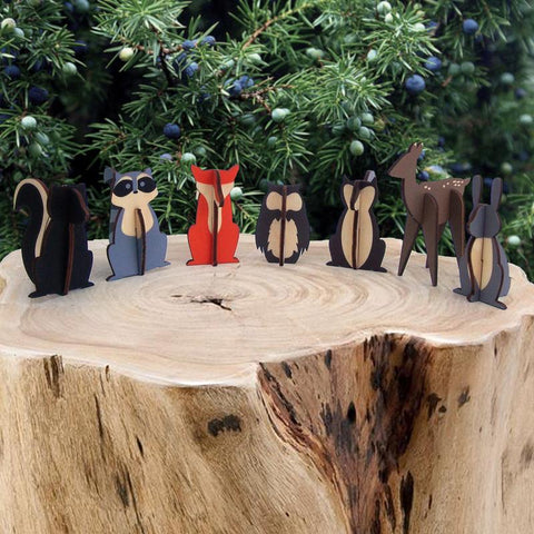 Handcrafted Wooden Wand Stands