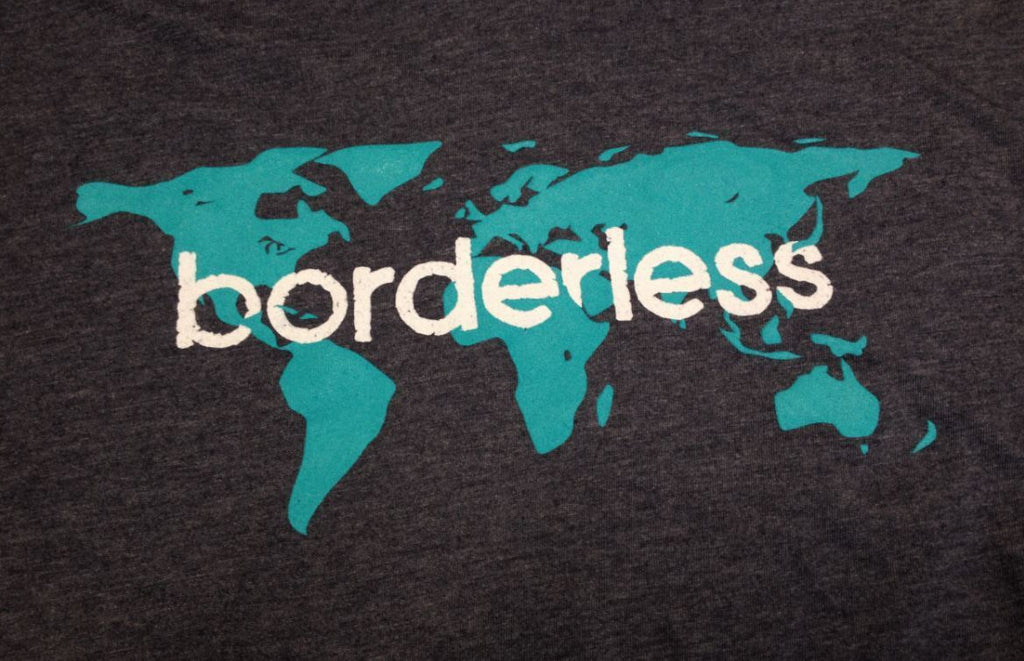 Borderless V-Neck