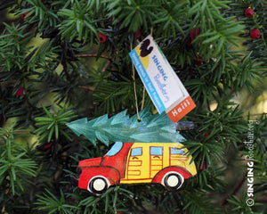 Classic Christmas Car Ornament - Made in Haiti