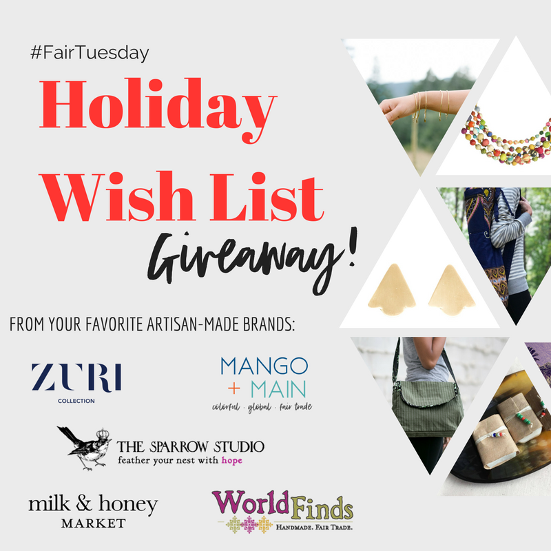 Holiday Wish List {and Giveaway}!